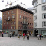 St. Moritz, Grigioni, Svizzera. Autore e Copyright: Marco Ramerini