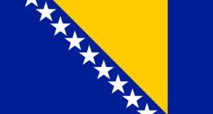 Bandiera della Bosnia Erzegovina