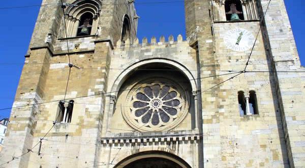 La cattedrale di Lisbona, Portogallo. Autore e Copyright: Liliana Ramerini