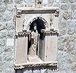 Statua di San Biagio, Dubrovnik (Ragusa). Autore e Copyright: Marco Ramerini