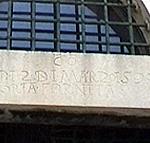 """Rupe, Dubrovnik (Ragusa). L'iscrizione in Italiano all'ingresso: """"Adi 2 di Marzo 1590 porta fornita"""". Autore e Copyright: Marco Ramerini"""