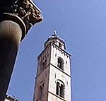 Campanile, Dubrovnik (Ragusa). Autore e Copyright: Marco Ramerini