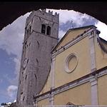 Il duomo, Montona (Motovun), Istria, Croazia. Autore e Copyright: Marco Ramerini