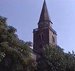 Il campanile del duomo di Grisignana (Grožnjan), Istria, Croazia. Autore e Copyright: Marco Ramerini
