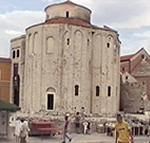 San Donato (St. Donat), Zeleni Trg (Piazza delle Erbe), Zara (Zadar), Croazia. Autore e Copyright: Marco Ramerini