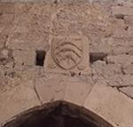 Stemma sulla porta della fortezza di S. Anna, Sebenico (Šibenik). Autore e Copyright: Marco Ramerini