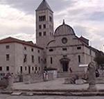 La chiesa di Santa Maria (Sv. Marije), Zara (Zadar), Croazia. Autore e Copyright: Marco Ramerini