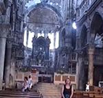 Interno della cattedrale di Sebenico (Šibenik). Autore e Copyright: Marco Ramerini