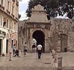 Porta Marina (Vrata Sv. Krsevana), Zara (Zadar), Croazia. Autore e Copyright: Marco Ramerini