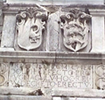 Iscrizione in Trg Petra Bunara (Piazza o Campo dei Cinque Pozzi), Zara (Zadar), Croazia. Autore e Copyright: Marco Ramerini