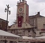 Loggia della Gran Guardia in Narodni Trg (Piazza dei Signori), Zara (Zadar), Croazia. Autore e Copyright: Marco Ramerini