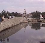 Il ponte e la porta inferiore d'accesso a Nin (Nona). Autore e Copyright: Marco Ramerini