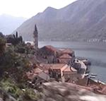 Il paese di Perasto (Perast), Montenegro. Autore e Copyright: Marco Ramerini