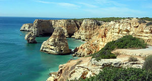 La costa dell'Algarve, Portogallo. Autore: Had01. No Copyright