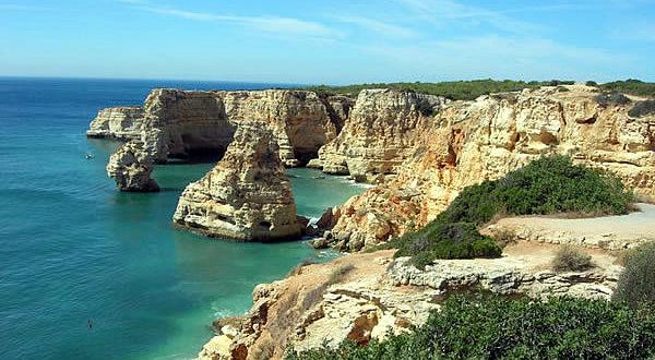 La costa dell'Algarve, Portogallo. Autore: Had01. No Copyright