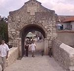 La porta inferiore di Nin (Nona). Autore e Copyright: Marco Ramerini