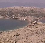 Veduta della città di Pago (Pag) all'ingresso della Valle di Saline. Autore e Copyright: Marco Ramerini