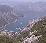 Panorama sulle Bocche di Cattaro e sulla città di Cattaro, Montenegro. Autore e Copyright: Marco Ramerini