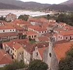 Veduta di Ston (Stagno), Dalmazia, Croazia. Autore e Copyright: Marco Ramerini