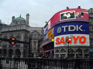 Piccadilly Circus, Londra, Regno Unito