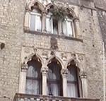Palazzo Cippico, Trogir (Traù), Croazia. Autore e Copyright: Marco Ramerini