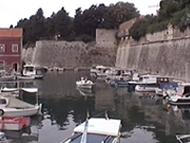 La Fossa (Fosa) e il bastione Cittadella (costruito nel 1574), Zara (Zadar), Croazia. Autore e Copyright: Marco Ramerini