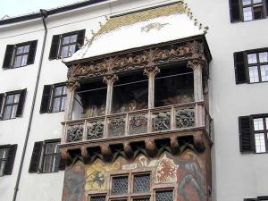 Il Tetto d'Oro, Innsbruck, Tirolo, Austria. Autore e Copyright: Liliana Ramerini