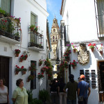 Calleja de las flores, Cordoba, Andalusia, Spagna. Author and Copyright Liliana Ramerini