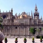 Cattedrale di Siviglia, Andalusia, Spagna. Author and Copyright Liliana Ramerini.