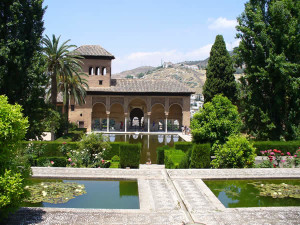 El Partal, Alhambra, Granada, Andalusia, Spagna.. Author and Copyright Liliana Ramerini