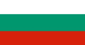 Bandiera della Bulgaria